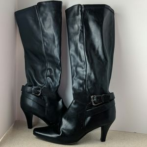 Sam & Libby size 9M black tall boots
